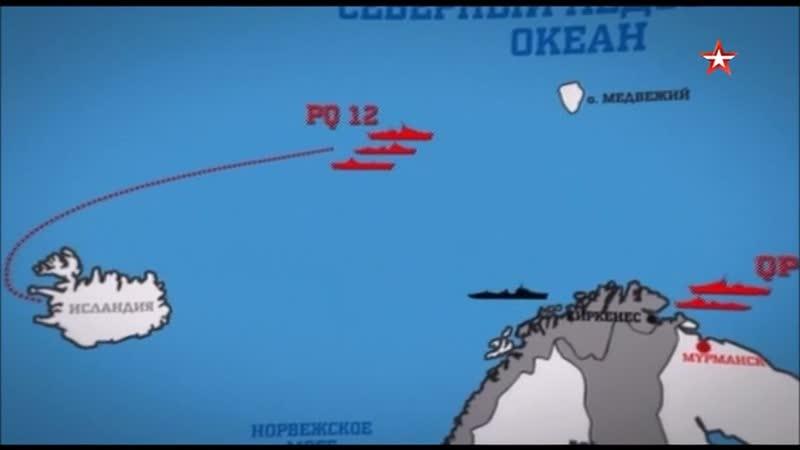 Битва за север война на море