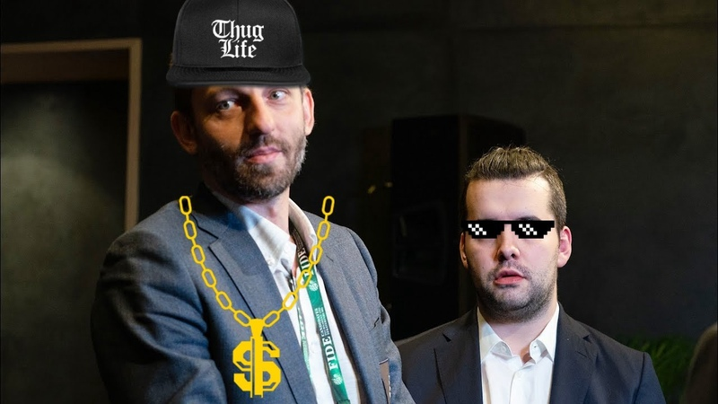Nepo reacts to Grischuk Thug Life Compilation