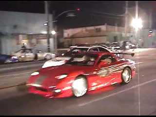 Bulletproof Automotive  On Set of The Original The Fast and The Furious.