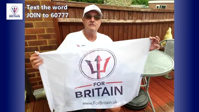 We wont let the lockdown keep us apart For Britain Anne Marie Waters