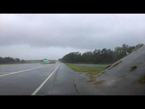 FLORENCE LIVE Dangerous Flood Threat Setting Up in North Carolina Fayetteville area