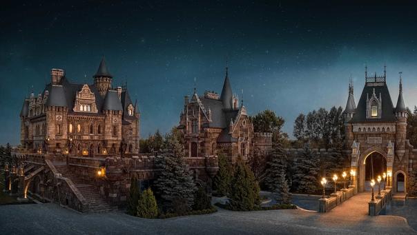 Сложно поверить, но этот замок стоит в России, в самарской области.