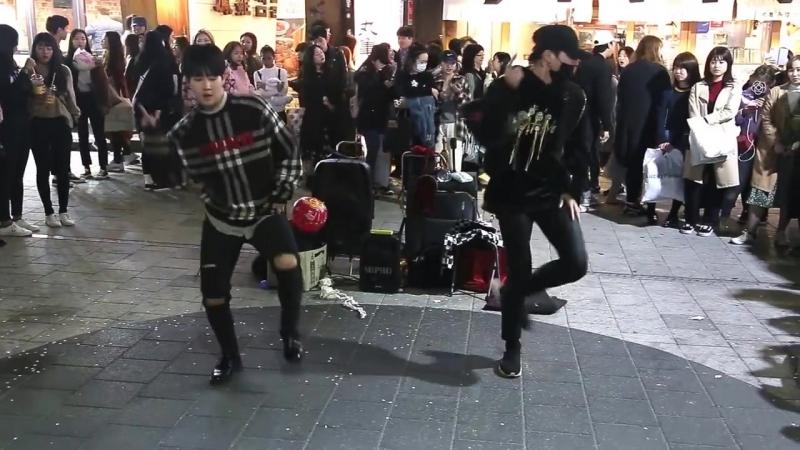 JHKTV]홍대댄스 디오비hong dae k-pop dance dob (pj hj) bling bling
