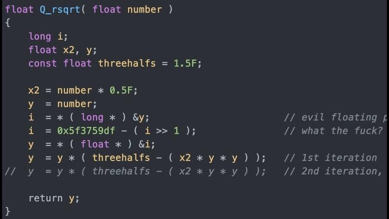 Fast Inverse Square Root A Quake III Algorithm