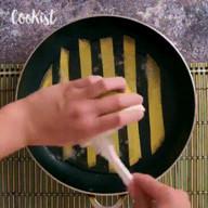 id_16668 Творческий подход к приготовлению завтрака 🍳   Автор: Cookist  #gif@bon