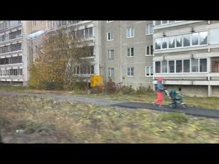 В Компрессорном положили асфальт на Яскина и Латви...