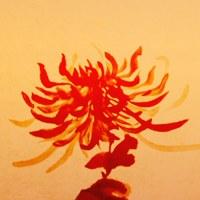 Логотип Повесть об Императоре средневековая Япония