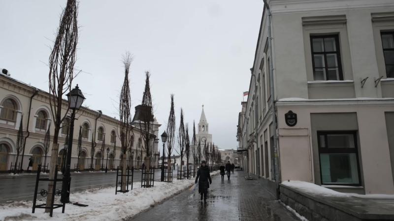 Сегодня в Казани сильнейший гололед