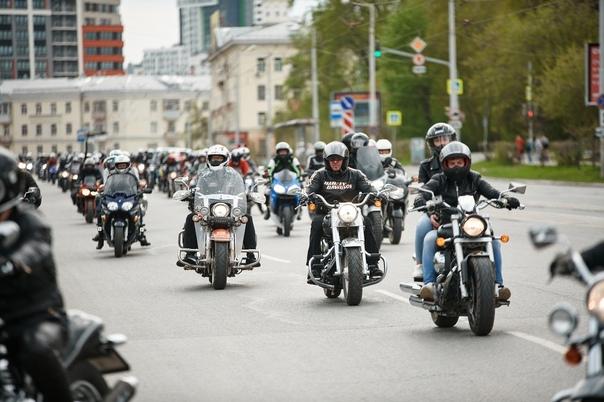 25 сентября байкеры Екатеринбурга закроют мото-сез...