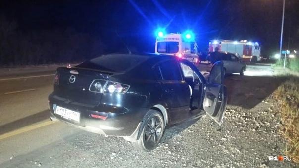 На Полевской трассе пьяный водитель устроил смертельное Д...