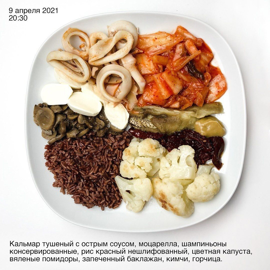 Прием пищи — это ритуал!