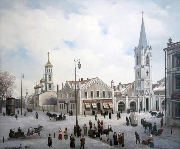 Дореволюционная Самара на картинах Александра Бака...
