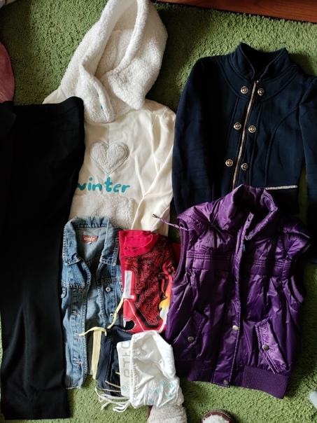 Отдаю: одежда на девочку, размер XS (есть может чу...
