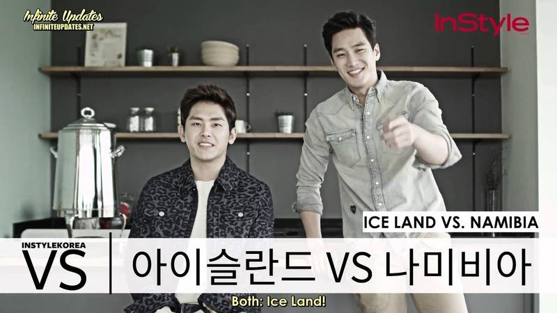 ENG SUB Instyle Korea TV Hoya and Ahn Bohyun's