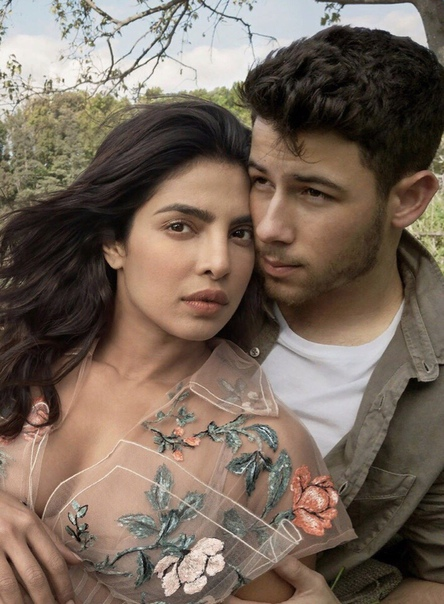 Priyanka Chopra & Nick Jonas Vogue, 2018