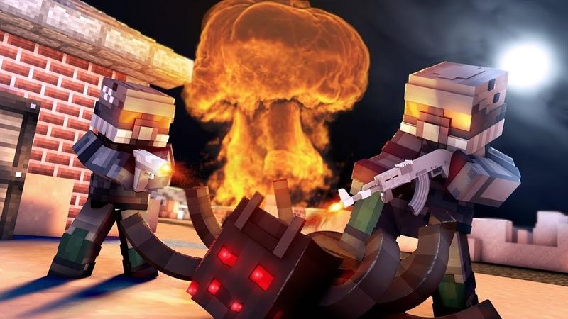 Minecraft сериал ЯДЕРНЫЙ УДАР 2 серия