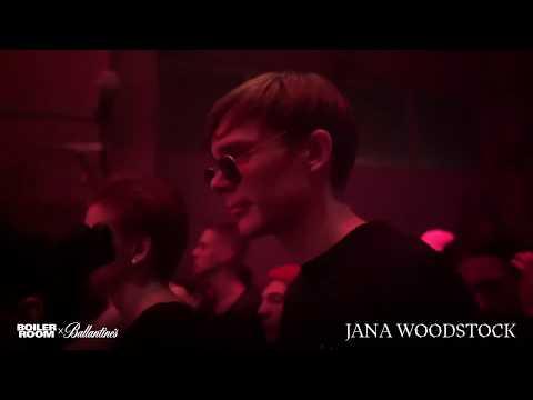 Jana Woodstock | Boiler Room x Ballantines True Music Kyiv 2019