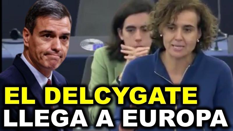 Brutal repaso de Dolors Montserrat a Pedro Sánchez ante toda Europa por el caso Ábalos