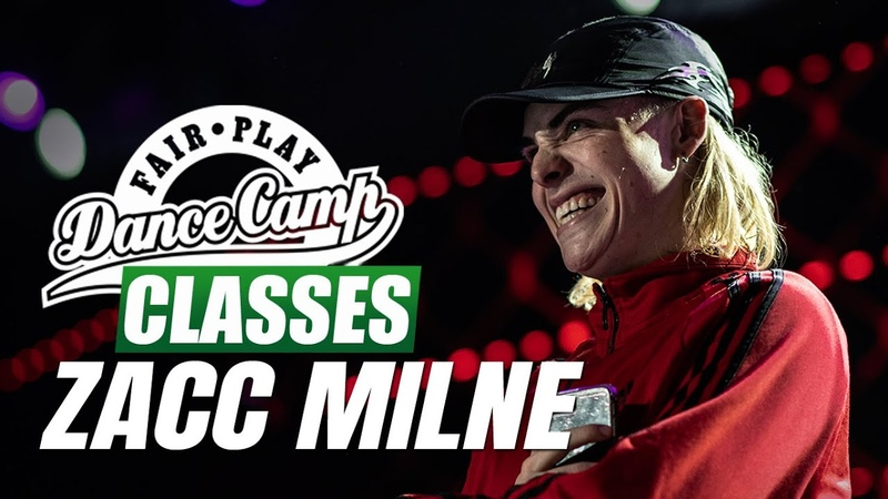 Zacc Milne ★ Pon De Floor ★ Fair Play Dance Camp 2019 ★