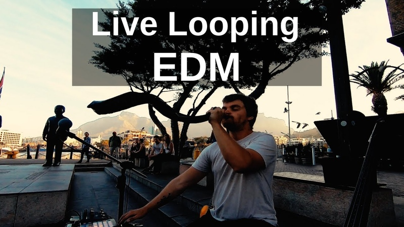 Orchestral EDM RC 505 Live Looping GoPro POV