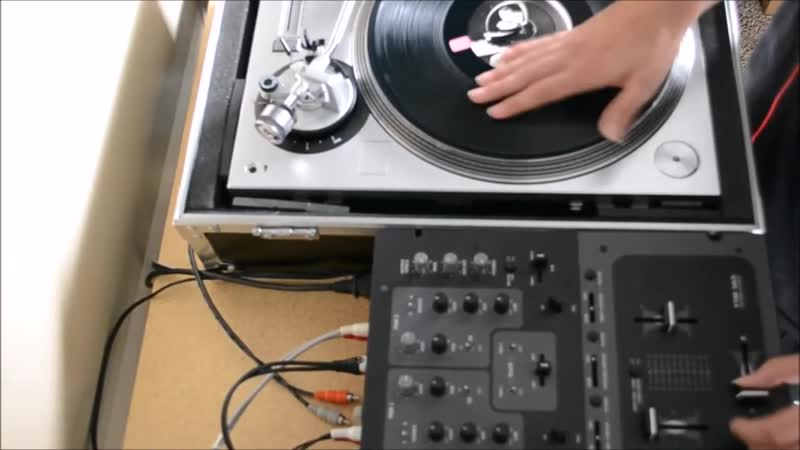 Kuts like a Guillotine! (ATLP-120 Turntable Scratch Test)