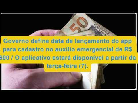 Governo define data de lançamento do app para cadastro no auxílio emergencial de R$ 600