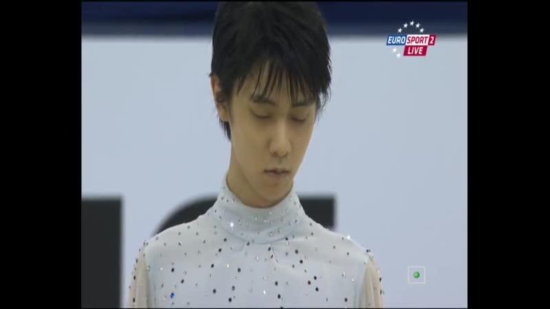 Yuzuru Hanyu 2014 Cup of China SP [Евроспорт Россия]