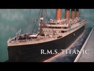 Диорама Титаника Родриго Пиллера в масштабе 1/100