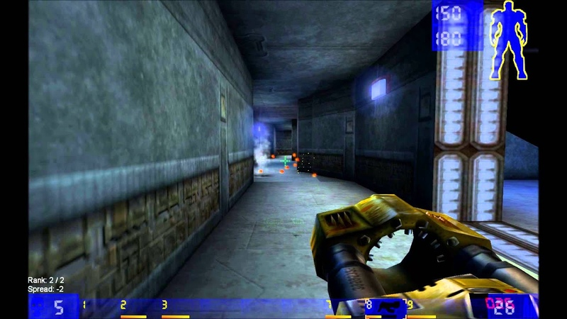 Unreal Tournament 1999 final match Xan GODLIKE