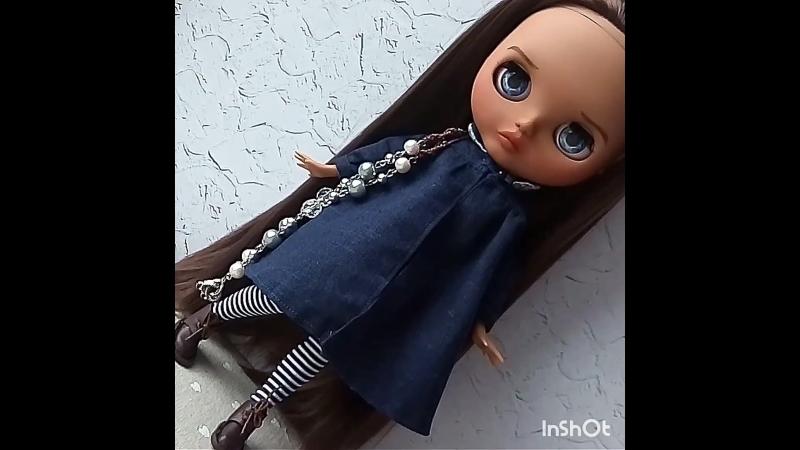 Custom Blythe Doll OOAK VIRGINIA TBL