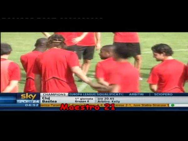 Zlatan Ibrahimovic frappe Rodney Strasser