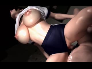 Horny Girl -  (Umemaro 3D) - [RUS субтитры] [CENSORED / цензура] (3D porn / hentai / Rule34)