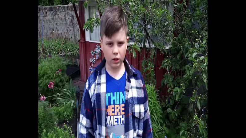 Илья Кирилюк участник конкурса Читаем Пушкина всем миром