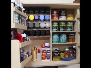 Самодельный шкаф для организации порядка