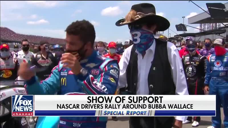 20 06 22 FBI investigates the discovery of a noose in Bubba Wallace s garage