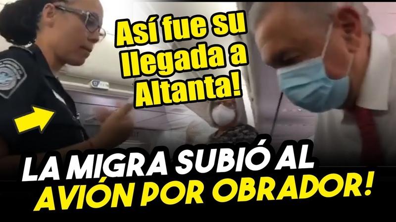 Trump toma control de la seguridad de Obrador Así fue su llegada a EEUU