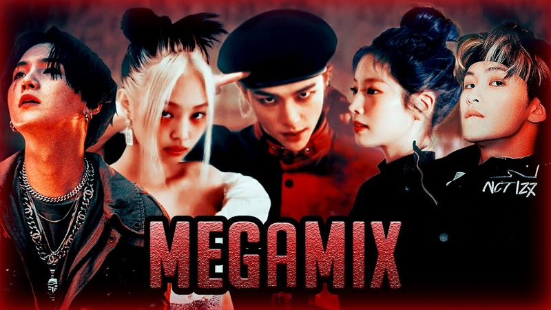 Stray Kids x Blackpink x BTS x EXO x TWICE x NCT MORE God's Menu MEGAMIX 神메뉴 25 Songs MASHUP