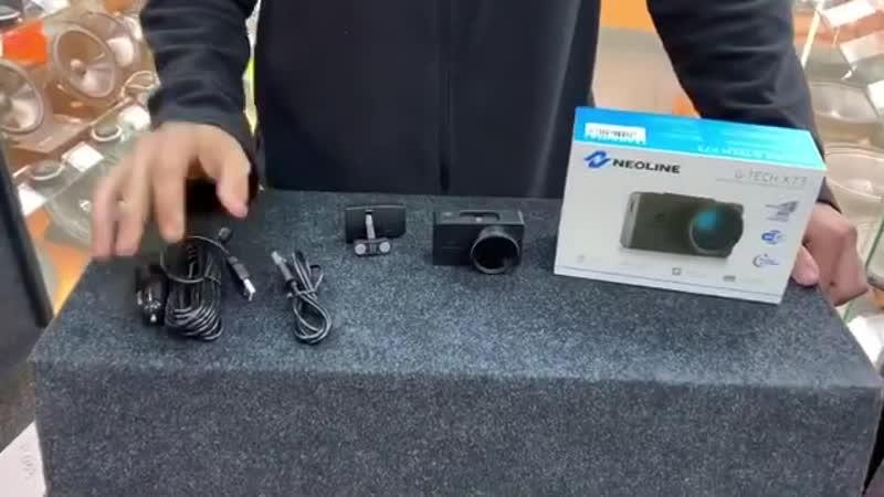 Мини обзор на видеорегистратор Neoline G Tech X73 Wi Fi