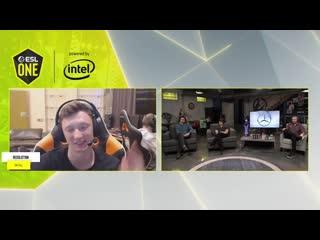 Интервью с Resolut1on после победы над OG. ESL One 2020 LA Online