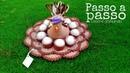 Galinha em crochê porta ovos, aula completa, com a montagem da galinha.