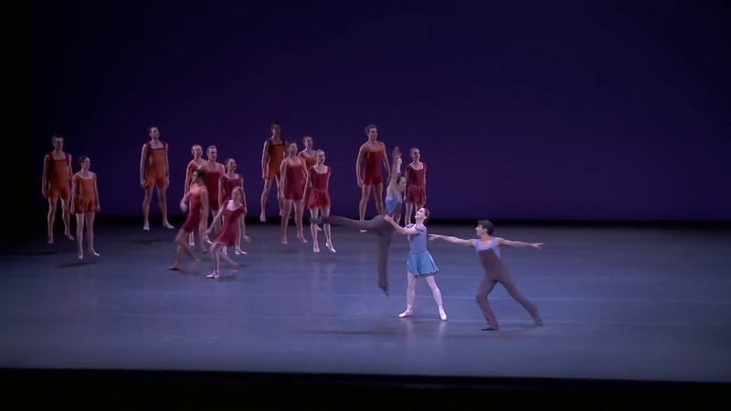 New York City Ballet Alexei Ratmansky作品Concerto DSCH