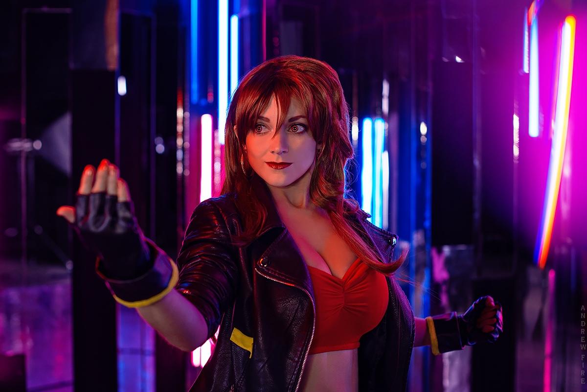 Блейз Филдинг (Blaze Fielding) из Streets of Rage cosplay
