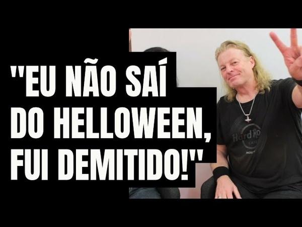 O lendário guitarrista do Helloween Roland Grapow acione as legendas