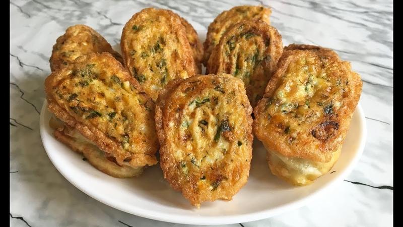 Невероятные ЖАРЕНЫЕ РУЛЕТИКИ ИЗ ЛАВАША Обязательно Попробуйте Pita Bread Rolls