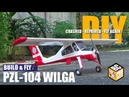 PZL-104 Wilga RC Plane Build and Fly