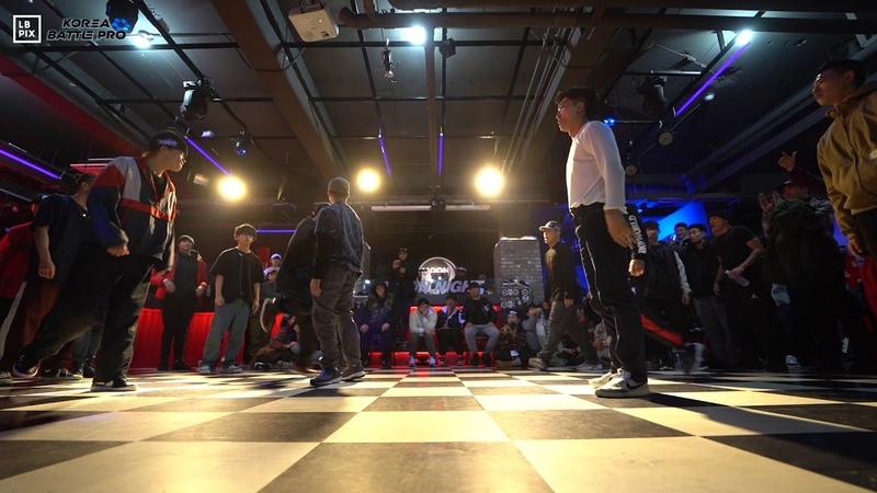 J2FIRE vs FUSION MC|Crew Semi @ KOREA BATTLE PRO 2019|LB-PIX
