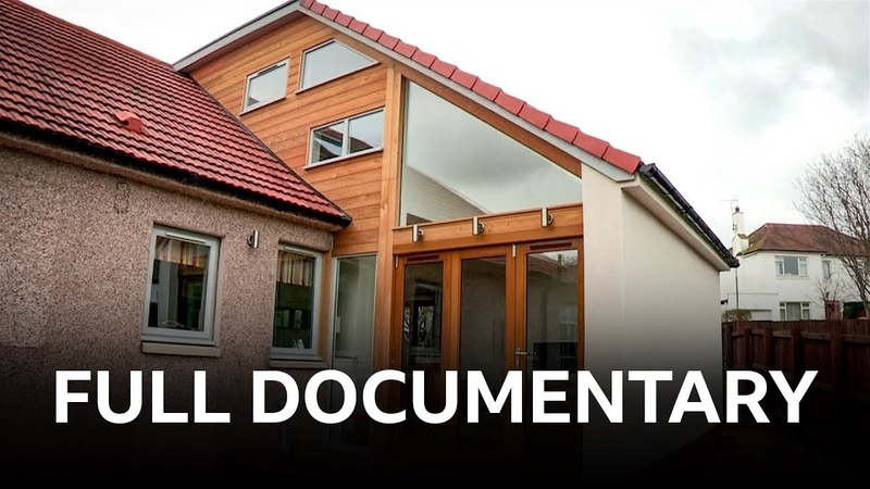 Two storey house extension in Edinburgh Building Dream Homes BBC Documentary