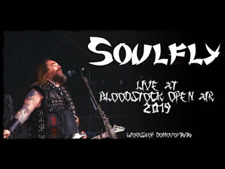 SOULFLY - Live at Bloodstock Open Air 2019 (Full Set Performance)