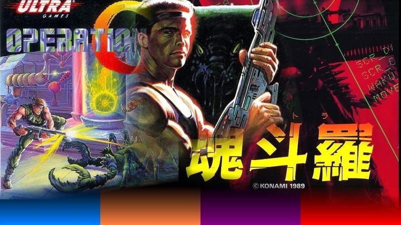 Operation C Kontora MSX2 Contra Spirits 2p HARD 2nd STREAM 40