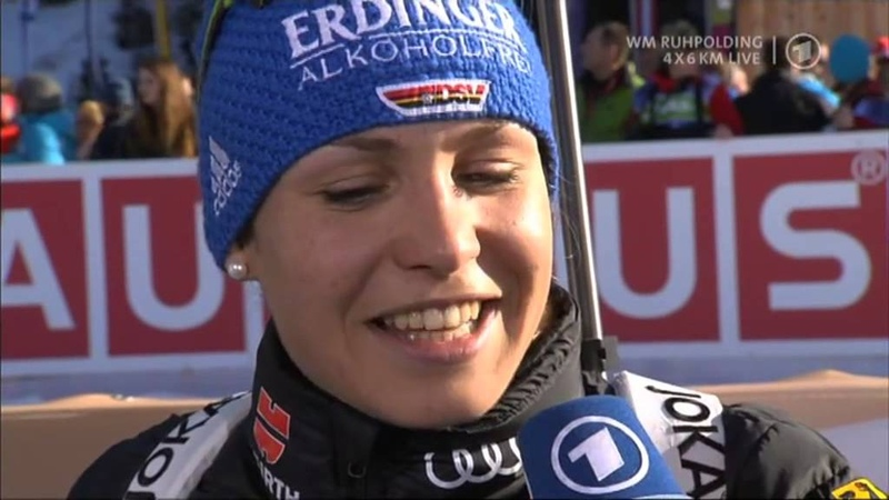 11 03 2012 Biathlon WM Ruhpolding Staffel Relay Winner Deutschland Germany full